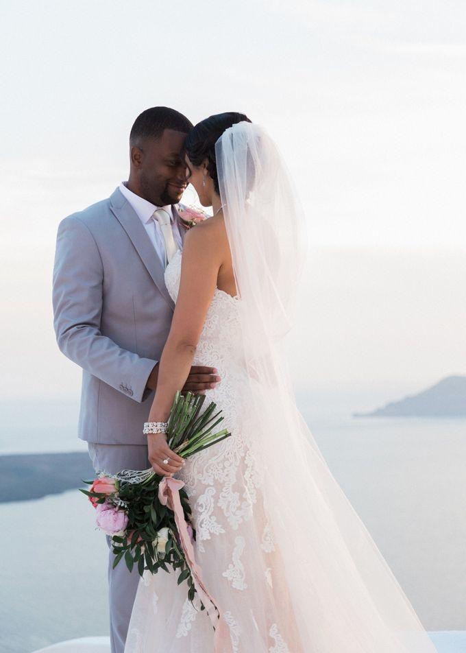 Dusty Pink Dream Wedding in Santorini by Stella & Moscha Weddings - 029
