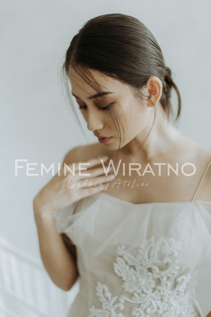 Hand Painted Gowns by Femine Wiratno - 007