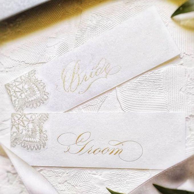 Wedding invitations by xuecalligraphy - 002