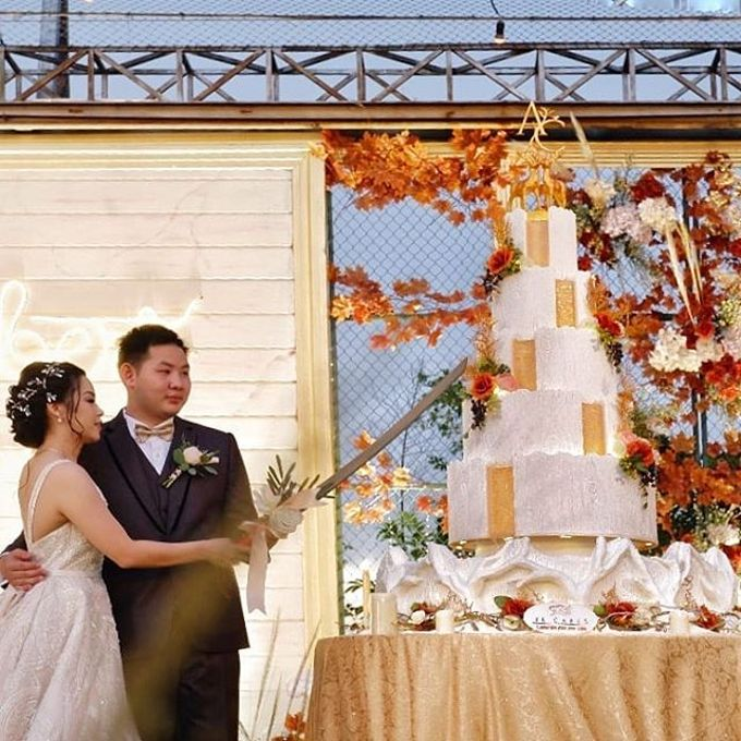 Wedding Cake - Real Wedding by RR CAKES - 019
