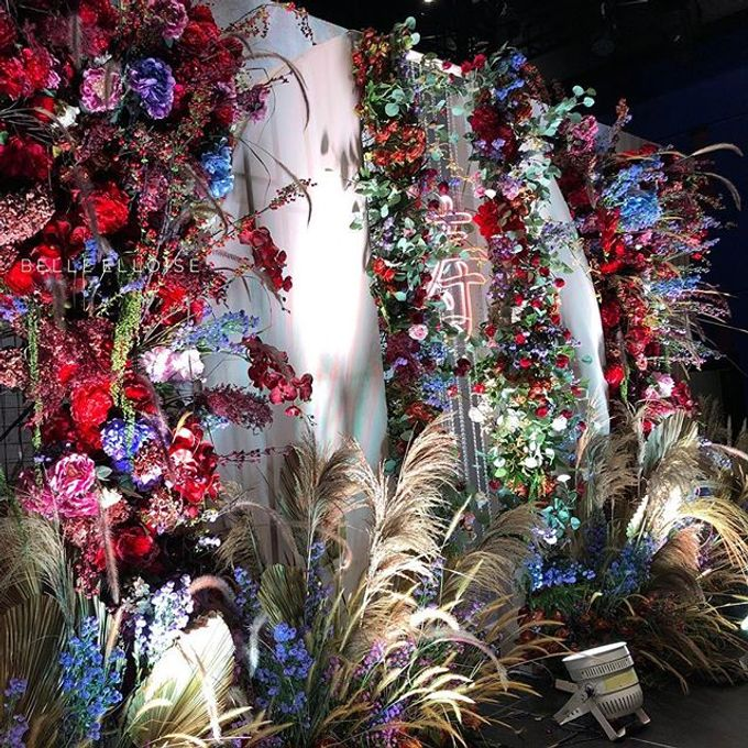 Vibrant Elloise  Garden by Belle Elloise.Co - 002