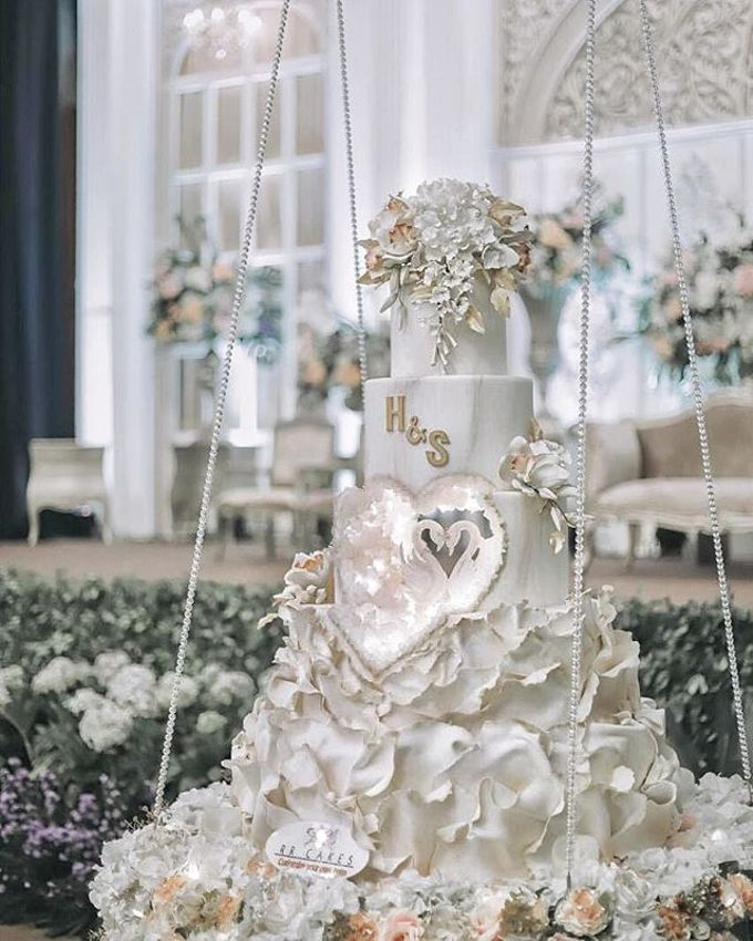 Wedding Cake - Real Wedding by RR CAKES - 017