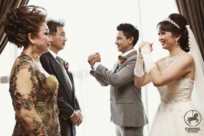 Arthur & Helen Wedding by Carrousel Photography - 010