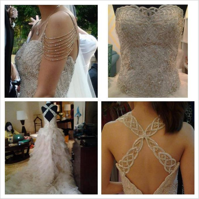 BRIDAL GOWN DETAIL by Steph Tan Couture - 013