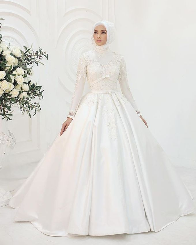 Gester Muslim Bridal by Gester Bridal & Salon Smart Hair - 049