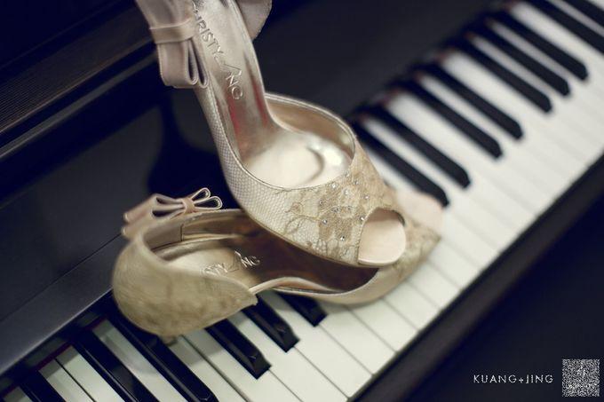 Bridal Shoe Close Ups by Christy Ng Shoes - 006
