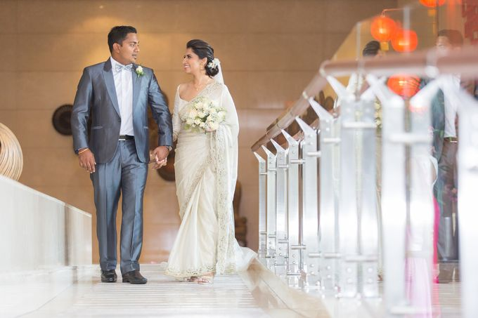 Wedding of Roshani & Charith by DR Creations - 029