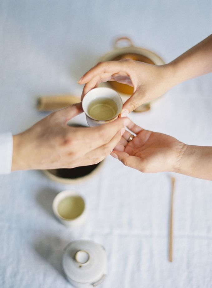 Chinese Tea Ceremony & Wedding in the Lavender Gardens of San Ysidro Ranch by Jen Huang Photo - 025