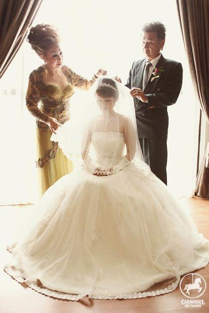 Arthur & Helen Wedding by Carrousel Photography - 004