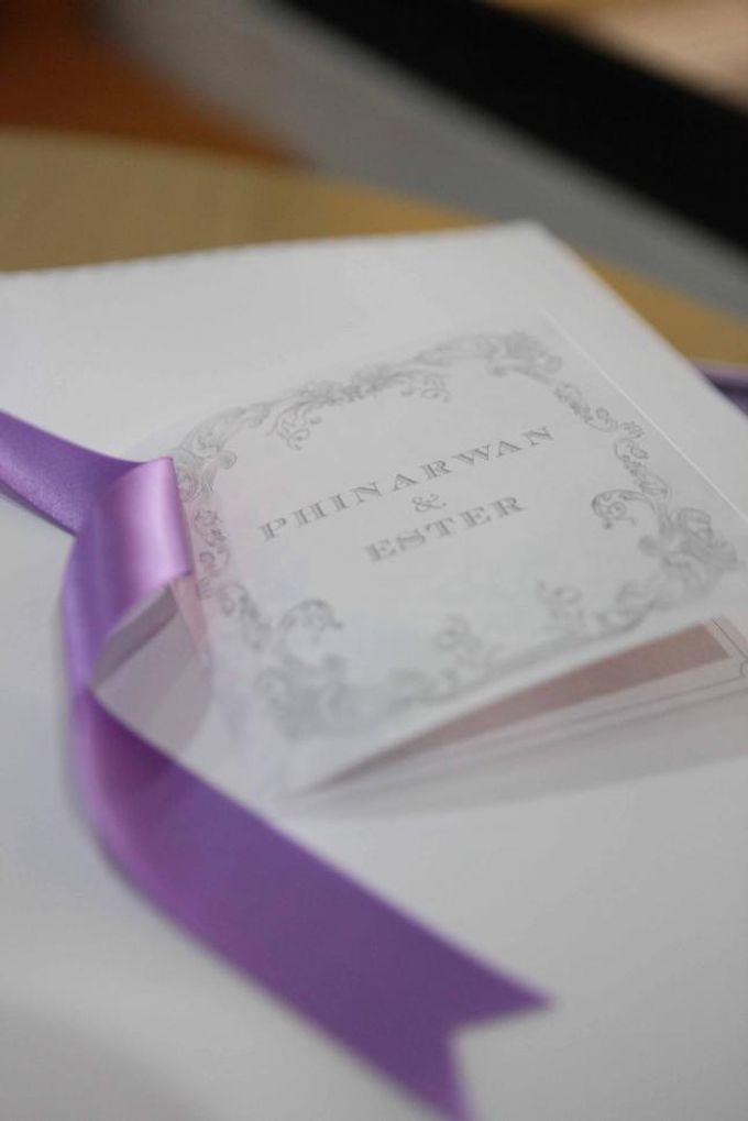 The Wedding of Phinarwan & Ester by PAM'S INVITATIONS & STATIONERY - 011