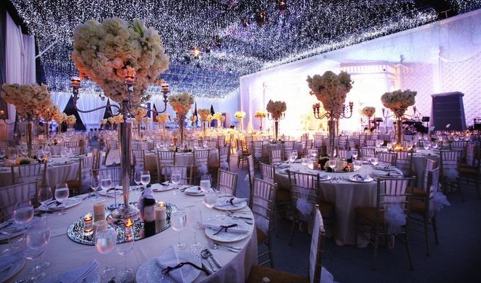 Dining Under A Thousand Stars by Flora Lines Decoration - 003