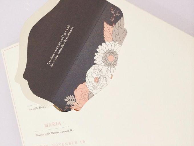 The Wedding of Igwan & Maria by PAM'S INVITATIONS & STATIONERY - 003