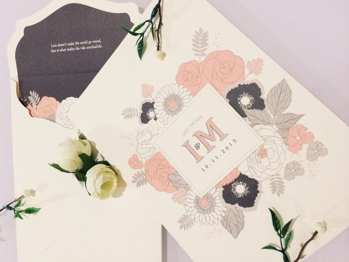 The Wedding of Igwan & Maria by PAM'S INVITATIONS & STATIONERY - 006