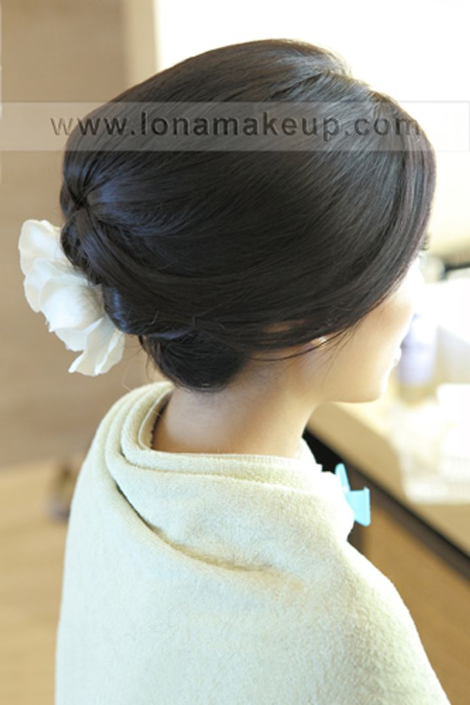 Bridal Hair by Lona Makeup - 001
