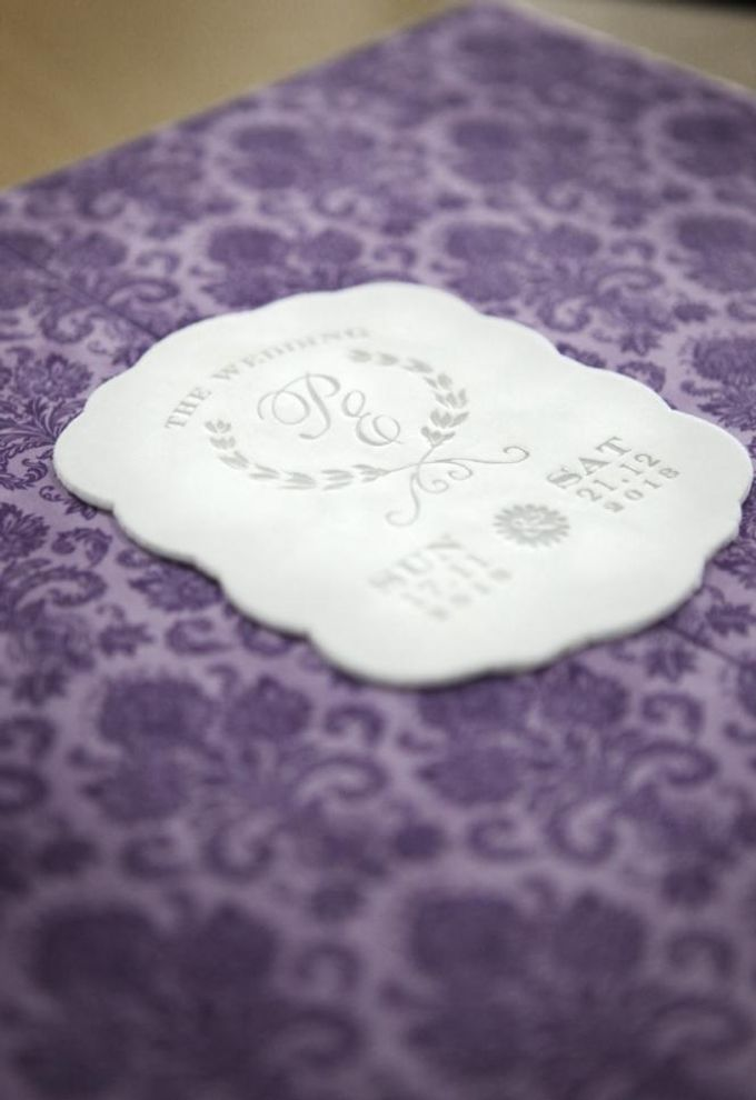 The Wedding of Phinarwan & Ester by PAM'S INVITATIONS & STATIONERY - 001