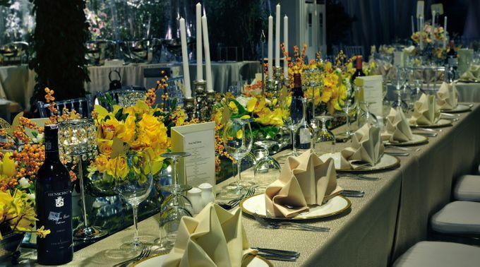 Golden Winter Wedding by Flora Lines Decoration - 005