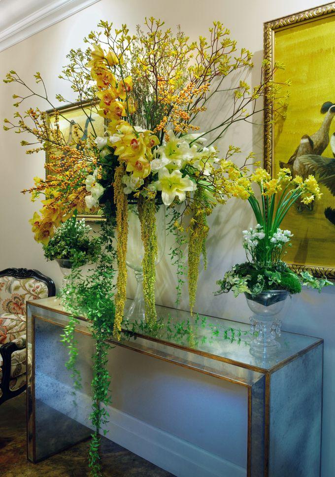 Golden Winter Wedding by Flora Lines Decoration - 002