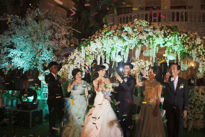 Garden Wedding of Ricky & Inggrid by All Occasions Wedding Planner - 011