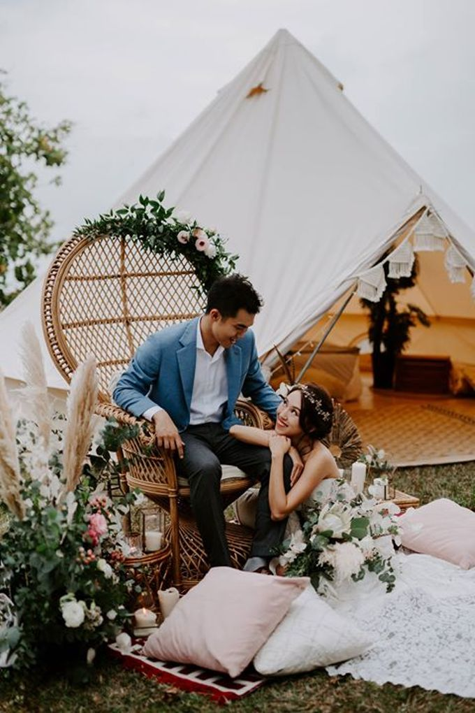 Melissa Koh  for Glamping Romance by Natalie Wong Photography - 001