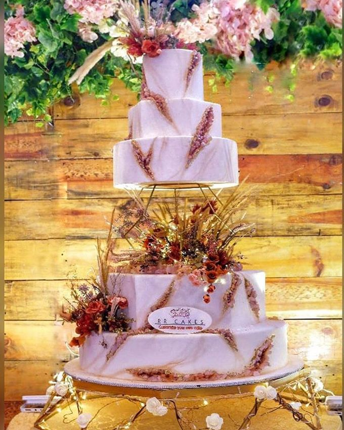 Wedding Cake - Real Wedding by RR CAKES - 009