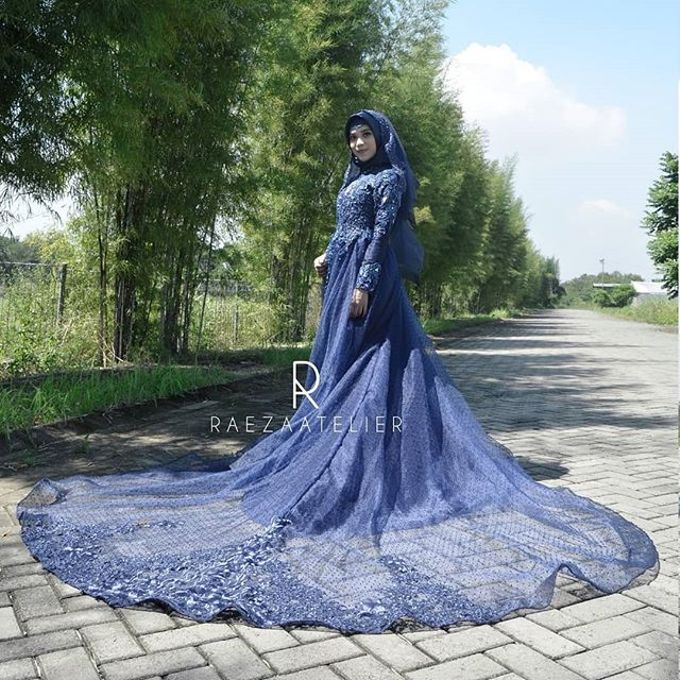 Gaun Pengantin Muslim By Raeza Atelier Bridestorycom
