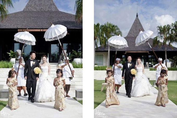 Bali Wedding Li Shun & Cong Xin at Royal Santrian Nusa Dua by Heru Photography - 012