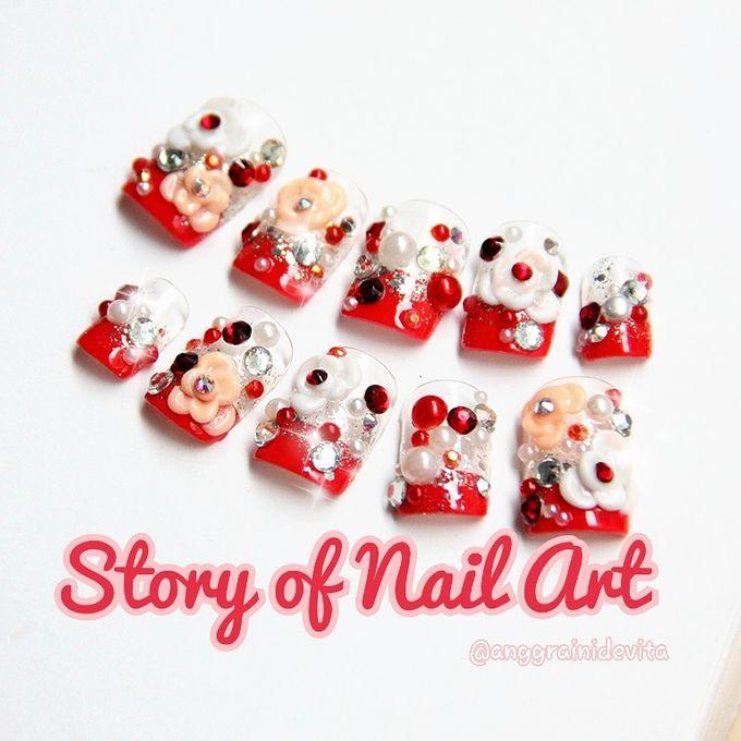 Fake Nails by Story of Nailart - 019
