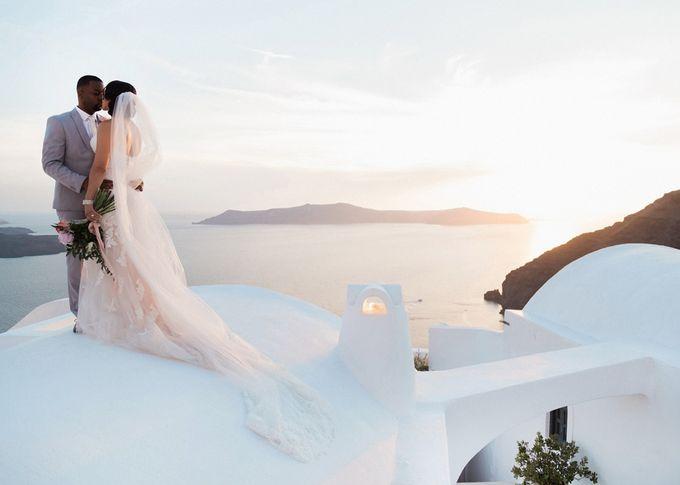 Dusty Pink Dream Wedding in Santorini by Stella & Moscha Weddings - 030