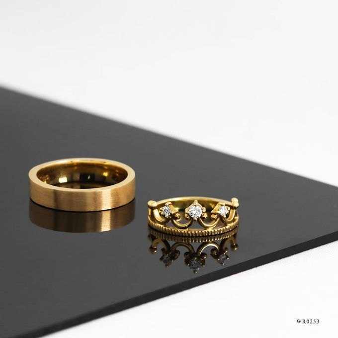 Wedding Ring WR0253 V&Co Jewellery by V&Co Jewellery - 001