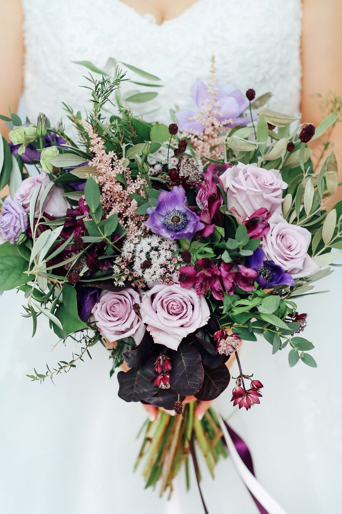 A Rustic Wild Wedding Bouquet by AROF (A ROOMFUL OF FLOWERS) - 005