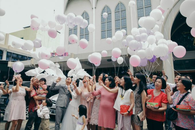 Tomas & Asti Jakarta Wedding by Ian Vins - 032