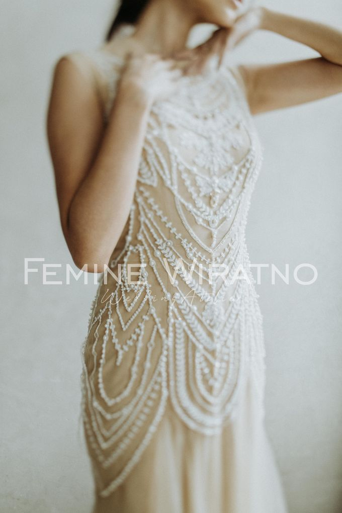 Hand Painted Gowns by Femine Wiratno - 002