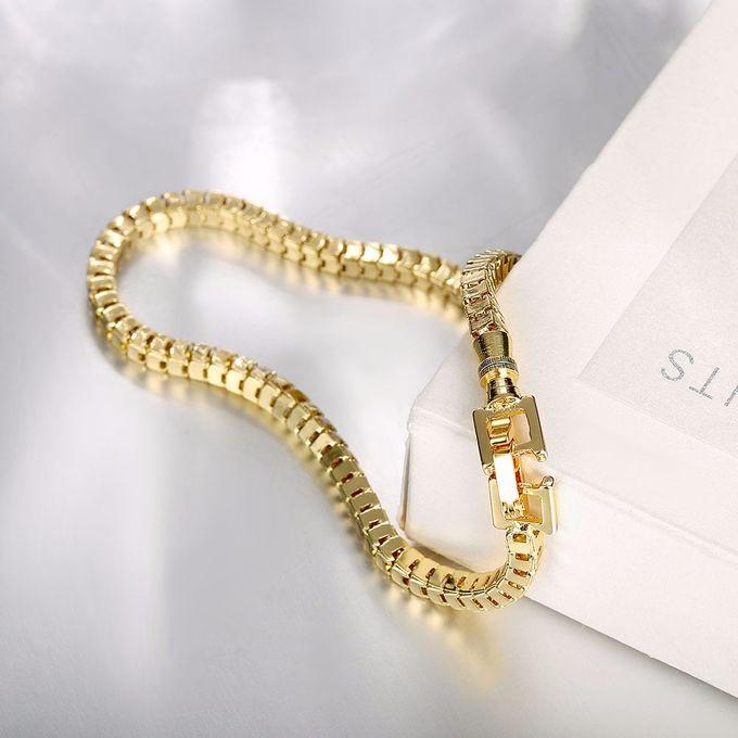 TIARIA Chain Gold Bracelet Perhiasan Gelang Emas by TIARIA - 003