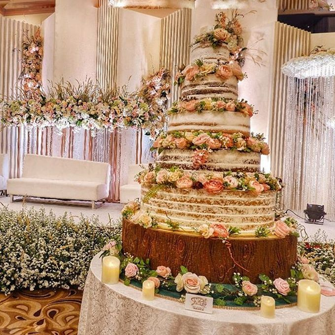 Wedding Cake - Real Wedding by RR CAKES - 007
