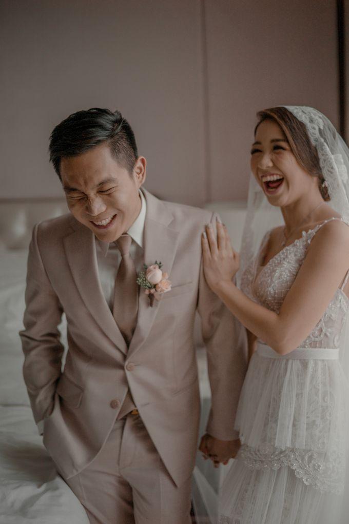 Alvin & Natasha Wedding by Philip Formalwear - 019