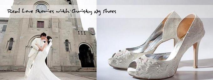 Bridal Shoe Close Ups by Christy Ng Shoes - 008