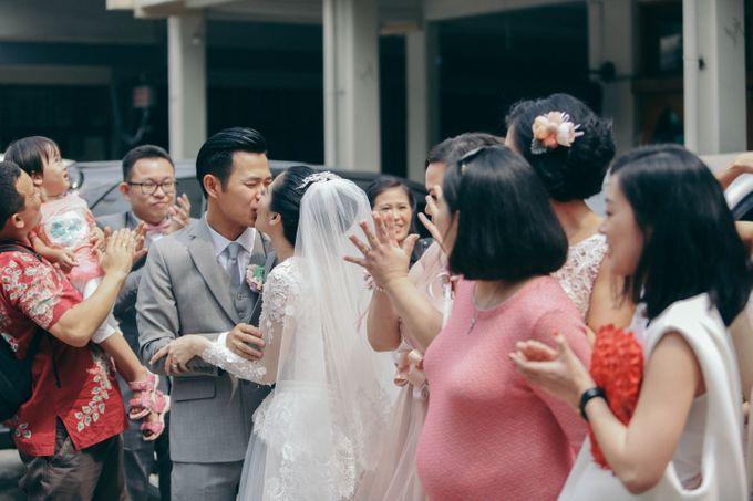 Tomas & Asti Jakarta Wedding by Ian Vins - 033