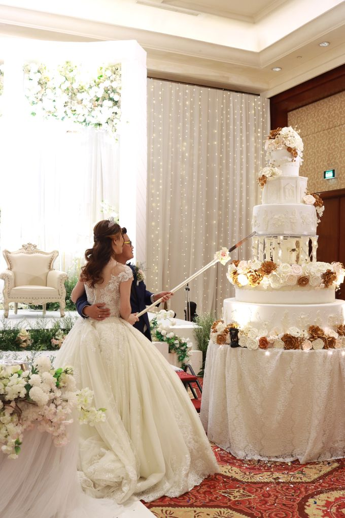 Entertainment Jazz Wedding JW Marriott Jakarta - Double V Entertainment by EIFFEL CAKE - 014