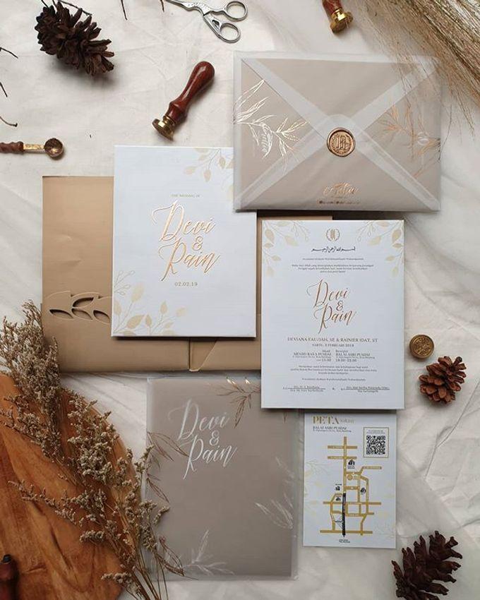 CORELLIA WEDDING INVITATION by CORELLIA INVITATION - 001