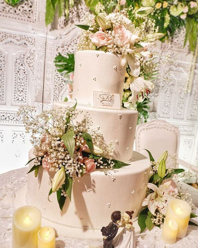 Wedding Cake - Real Wedding by RR CAKES - 008