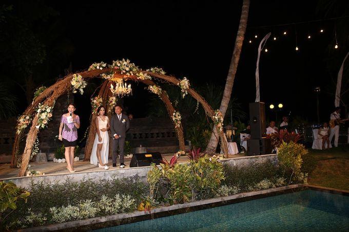 THE STAR BAND at TARA & MARSHEL Wedding by BALI LIVE ENTERTAINMENT - 003