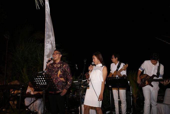 THE STAR BAND at TARA & MARSHEL Wedding by BALI LIVE ENTERTAINMENT - 004