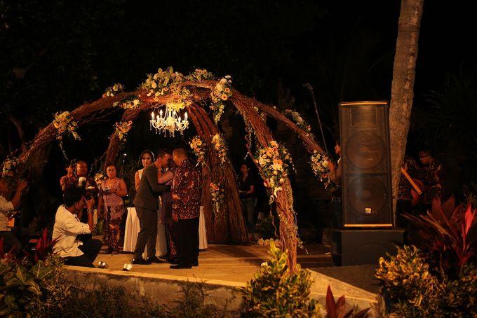 THE STAR BAND at TARA & MARSHEL Wedding by BALI LIVE ENTERTAINMENT - 005