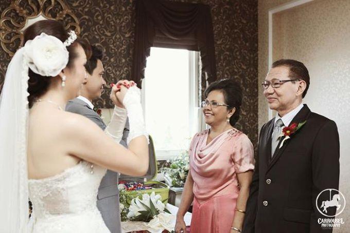 Arthur & Helen Wedding by Carrousel Photography - 011