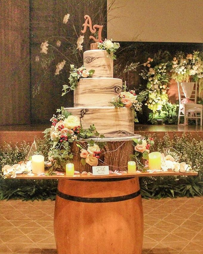 Wedding Cake - Real Wedding by RR CAKES - 006