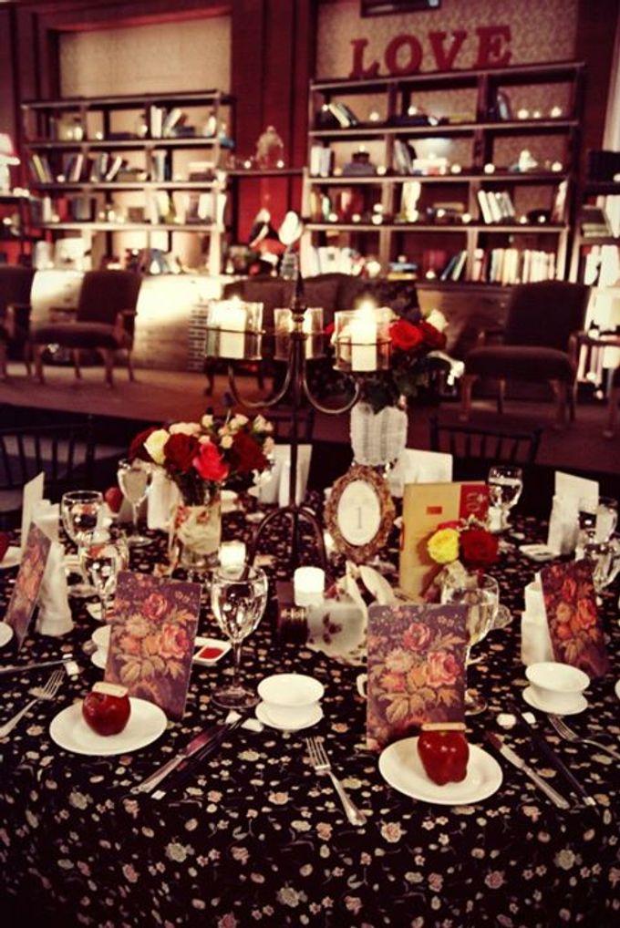 Bohemian Rhapsody by Tea Rose Wedding Designer - 014