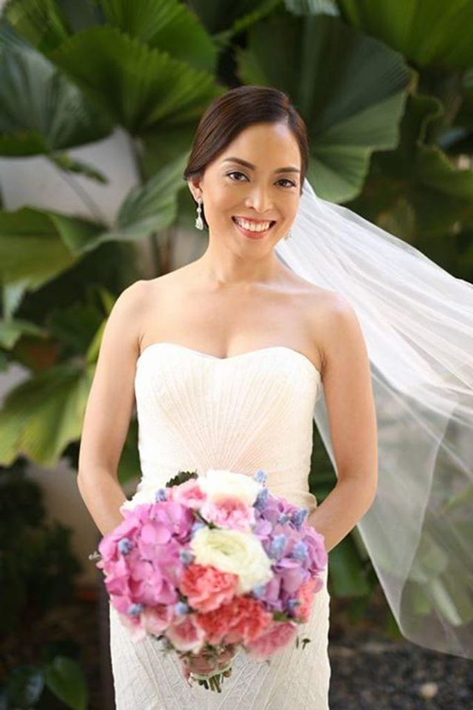 Rouella Real wedding  by Make Up by Ella - Boracay Based Make up Artist - 005