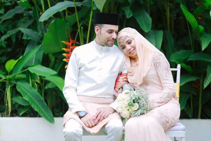 RAIHANA & MOHAMMAD by The Rafflesia Wedding & Portraiture - 050