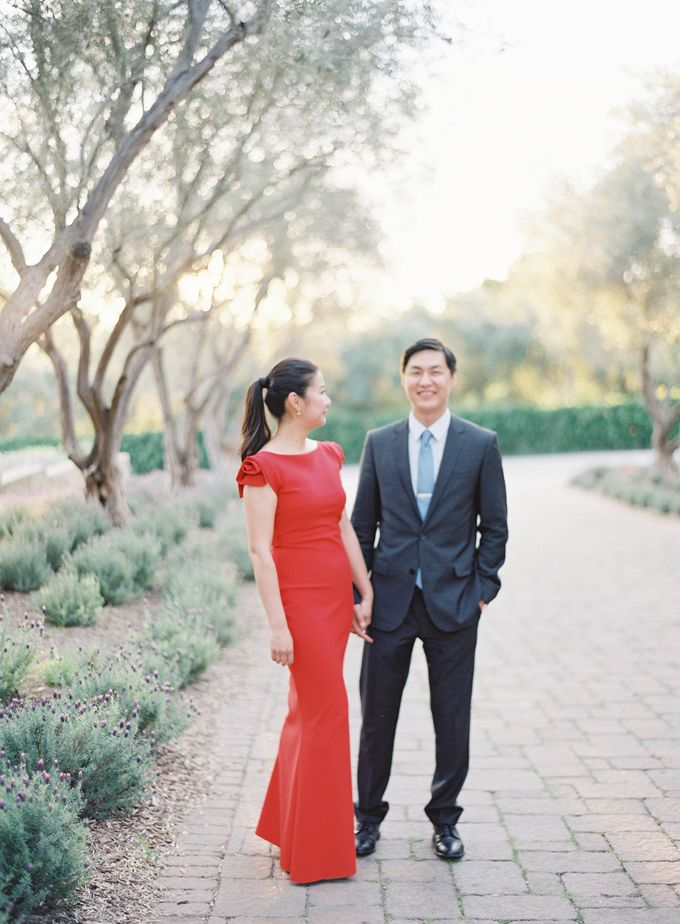 Chinese Tea Ceremony & Wedding in the Lavender Gardens of San Ysidro Ranch by Jen Huang Photo - 027