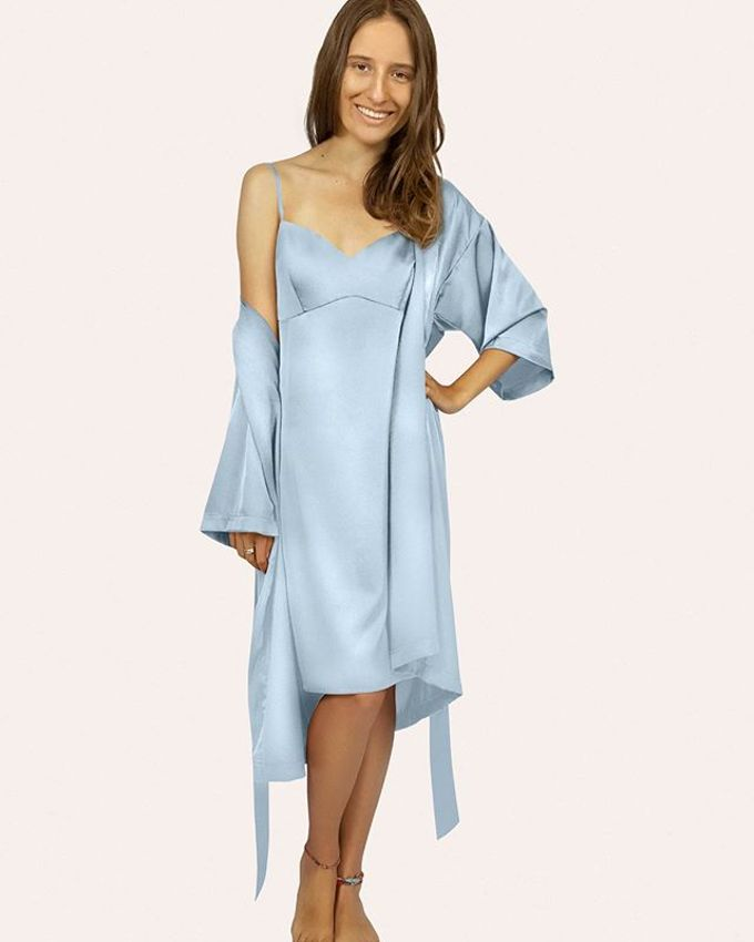 Bridal Robes & Wedding Totes by First Blush Co. - 005